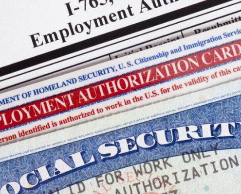 Immigrant Document Validity Extensions